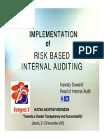 Teknik Penerapan Risk Based Audit