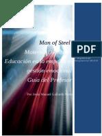 Elaboración de Material didáctico - Man of steel - Jesús Manuel Gallardo