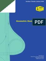 A Guide on Geometric Design of Roads
