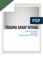 Trauma Saraf Spinal