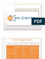 Spinal Cord Injury (SCI) Stem Cell Research Results