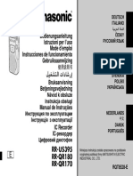 Panasonic (Grabadora - Manual)