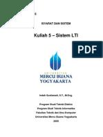 Kuliah 5 Bab 3 Sistem Lti