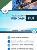 Agribisnis Entrepreneur