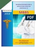 JSS University MBBS Information Bulletin