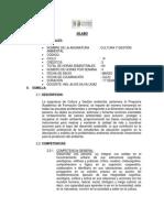 SILABO  2 DE CULTURA Y GESTIÓN AMBIENTAL 2014 - copia