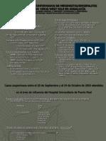 14 Primeros Casos Confirmados de Meningitis Encefalitis Humana Por Virus West Nile en Andalucia