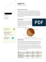 AppleTV Product Environmental Report 20110323