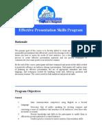 Effective Presentation Skills( Edited)