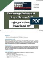 Pariharam for Marriage Delay, Childbirth, Chennai