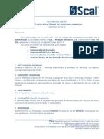 SCAL - Relatório da Gestão - 2013