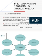 Avantaje Si Dezavantaje Ale Carierei in Administratia Publica