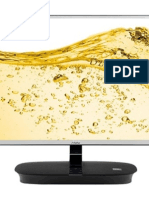 AOC launches IPS monitors with ONKYO speakers, MHL and Miracast connectivity