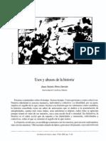 2002 Usos y Abusos de La Historia