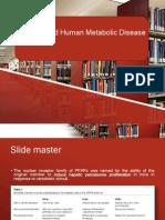 PPAR ᵧ And Human Metabolic Disease