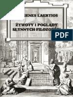 Diogenes Laertios - Żywoty i poglądy słynnych filozofów