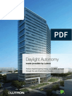 Daylight Autonomy made possible by Lutron