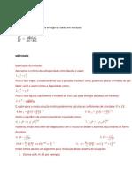 Cálculo de Equilíbrio Líquido-Vapor de Mistura Binária