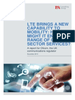 Ofcom Future LTE Services Study