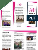 information kit alpha phi