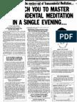 Eugene Schwartz Ad Transcendental Meditation
