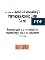 Chord Shapes Intermediate Acoustic Guitar Dvd