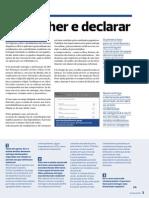 Guia Fiscal 2013 Preencher e Declarar