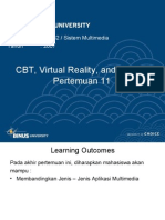 11 - Aplikasi Multimedia - CBT, Games, Dan Virtual Reality
