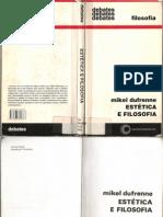 Mikel Duffrenne - Estética e Filosofia