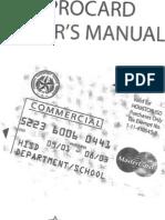 Hisd Pcard Manual