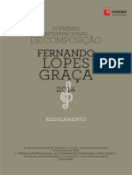 2014 Museus Mmp Premio Lopes Graca Flyer Port