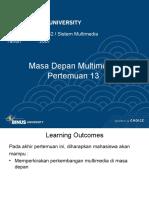 13 - Masa Depan Multimedia