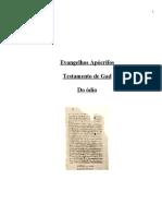 Evangelhos Apócrifos - Testamento de Gad (1)