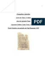 Evangelho Apócrifos - Atos do Apóstolo Tomé