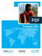 To Educate a Girl Ms Final