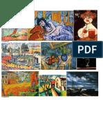 Siglo XX Pintura y Escultura 1
