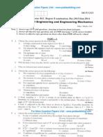 Elements of Civil Engineering Jan 2014