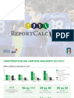 Report Calcio 2014 - PwC