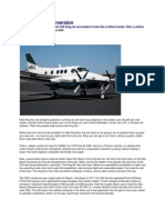King Air C90 Conversion