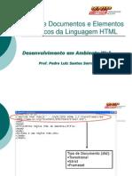 Elementos Básicos da Linguagem HTML