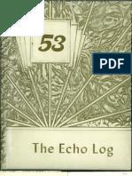 UCA 1953 Echo Log