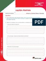 Ejercicios de El Capitan Alatriste