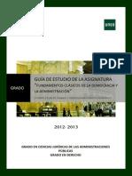 Fundamentos Clasicos de La Democracia y Administracion.