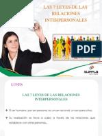 Semana 16 Las 7 Leyes de Las Relaciones Interpersonales
