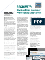 Resolve mobile App for Insolvency Practitioners_RebuidingSuccessFallWinter2013_ AllanNackan