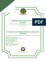 Student Guide Loan Repayment