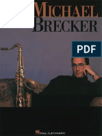 Michael Brecker - Artist Transcriptions