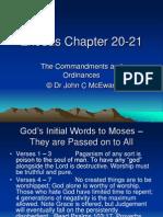 Exodus Chapter 20-21