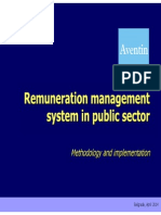 Remuneration Management System in Public Sector