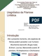 Seminário Filariose _ Diagnóstico Parasitologia